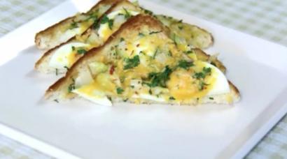 Haşlanmış Yumurtalı Omlet Tarifi