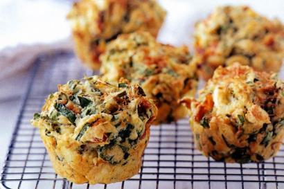 Ispanaklı Omlet Muffin Tarifi