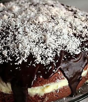 Eritre home-style Recipes Çikolata Soslu Muzlu Pasta Tarifi