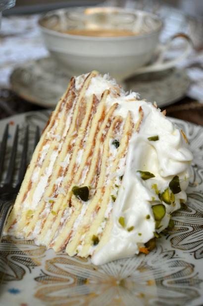 Bhutan home-style Recipes Fıstıklı Krep Pasta Tarifi