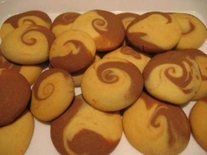 İspanya home-style Recipes Iki Renkli Kurabiye Tarifi