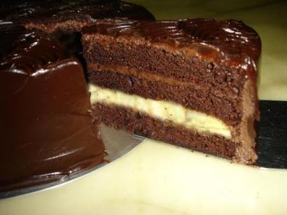 Muzlu Bitter Çikolatali Doğum Günü Pastasi Tarifi