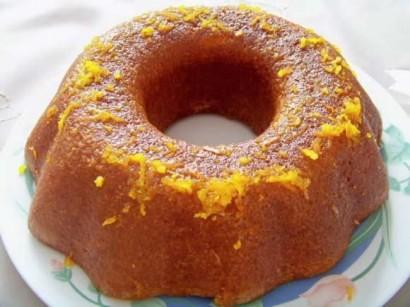 Efeler Usulü Tatlı Portakal Soslu Pasta Tarifi