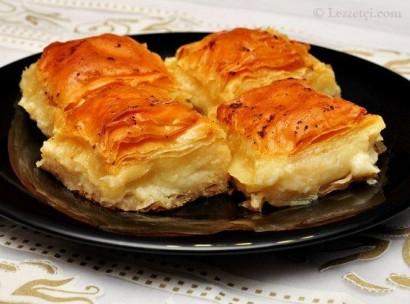 Sütlü Börek Tatlisi Tarifi