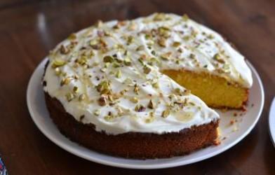 سوريا Suriye home-style Recipes  Kremali Irmik Tatlisi Tarifi