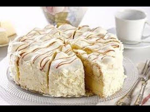 Hanönü Usulü Tatlı Beyaz Çikolatalı Pasta Tarifi