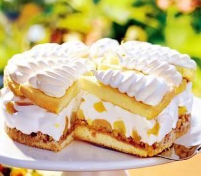 Tosya Usulü Tatlı Bezeli Böğürtlenli Pasta Tarifi