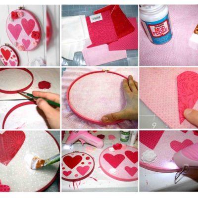 El Yapımı Sevgililer Günü Dekorasyonları