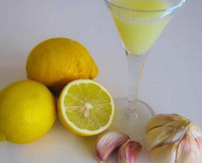 Limon Suyu Sarımsak