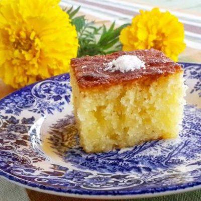 Tuvalu home-style Recipes Revani Tarifi