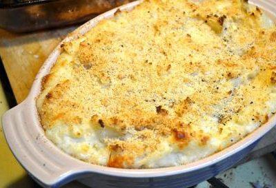 Fırında Ekşili Patates Püresi